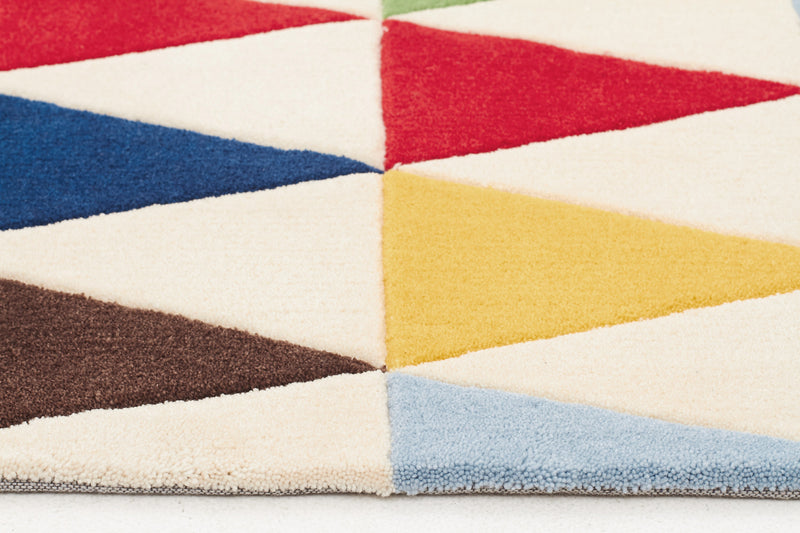 Bunting Multi Coloured Rug - MaddieBelle
