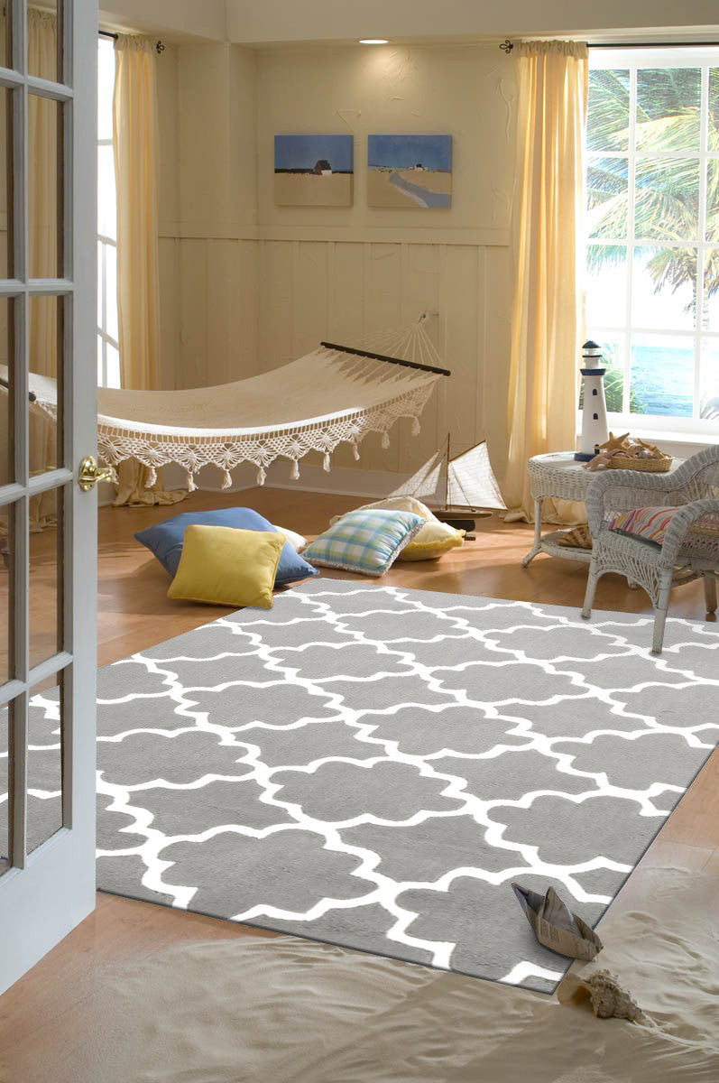 KIDS TRELLIS DESIGN IN GREY
