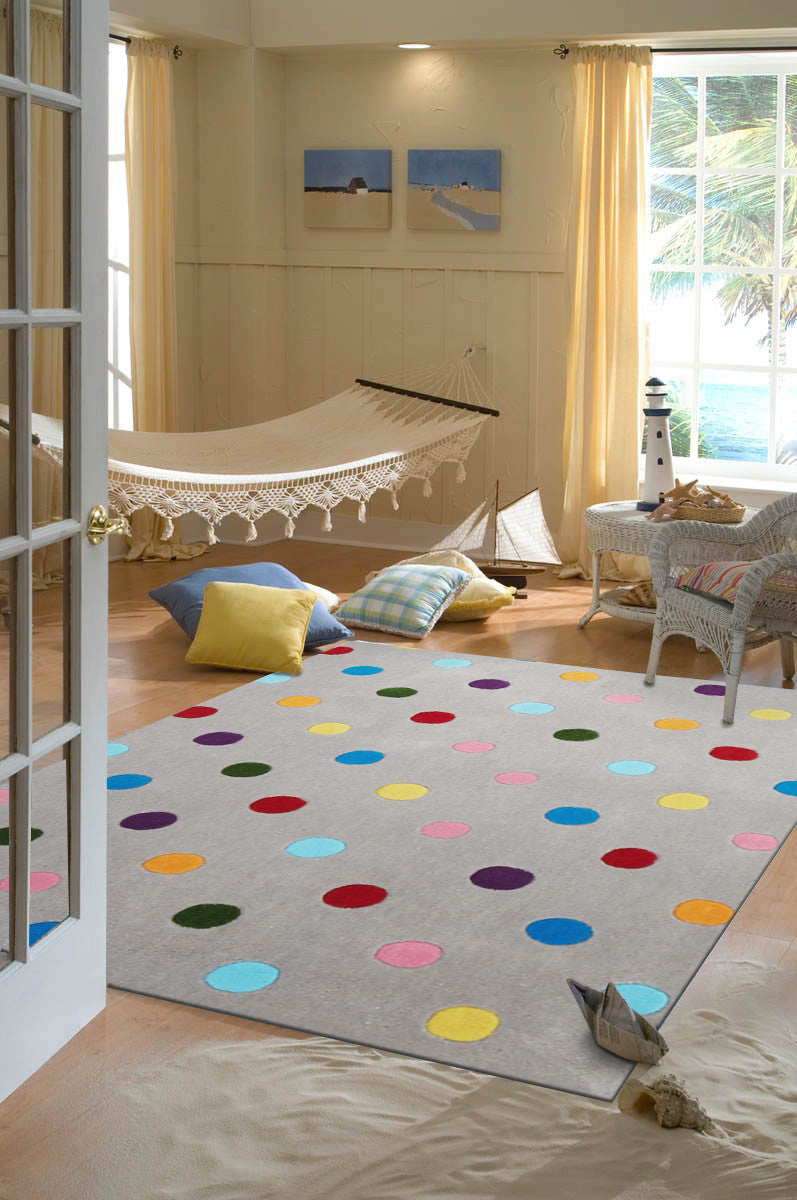 Spotty Dotty Kids Rug