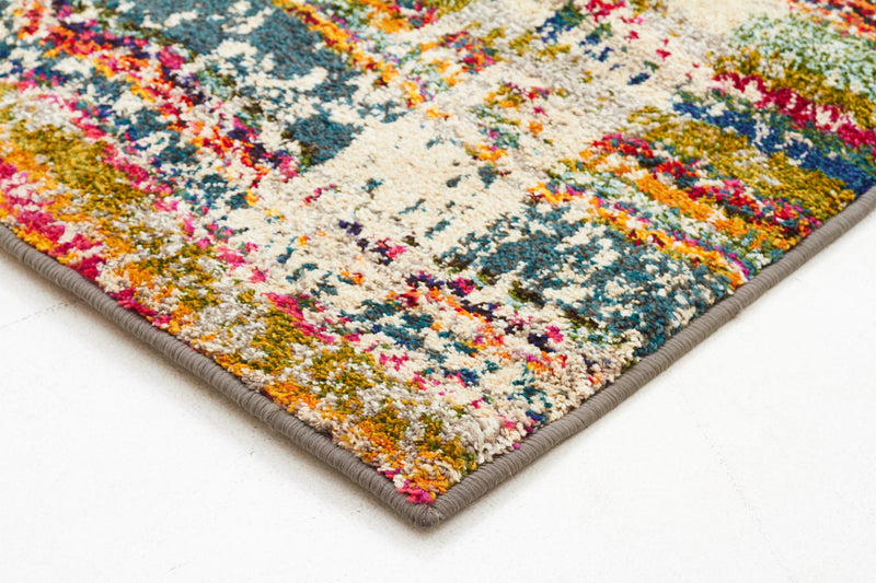 Multi Coloured Monet Rug - MaddieBelle