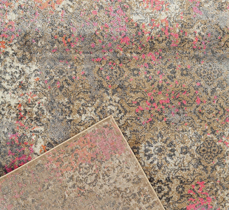 Danica Transitional Rug Soft Pink - MaddieBelle