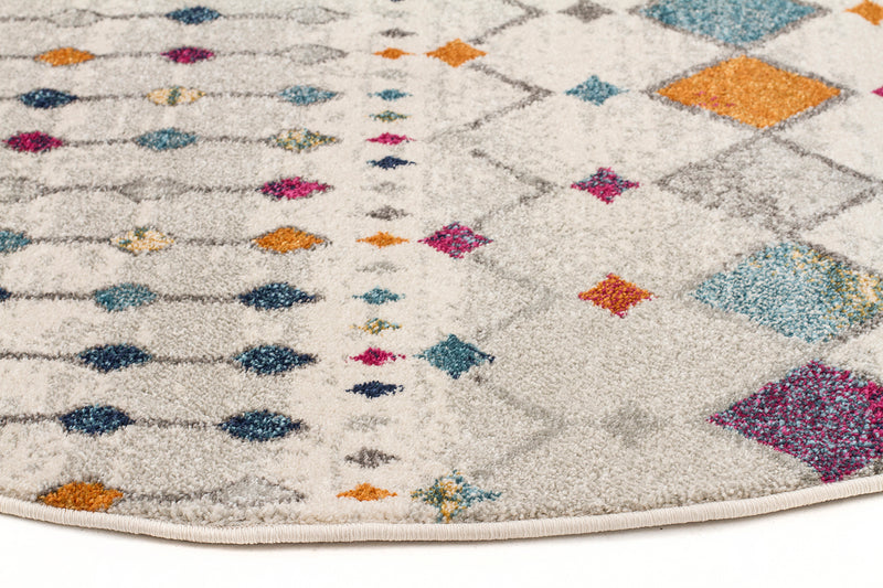 Bohemian Melody Round Rug