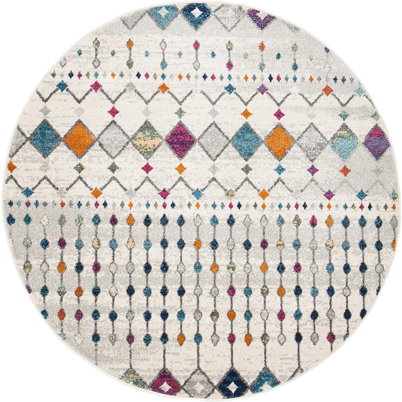 Bohemian Melody Round Rug - MaddieBelle
