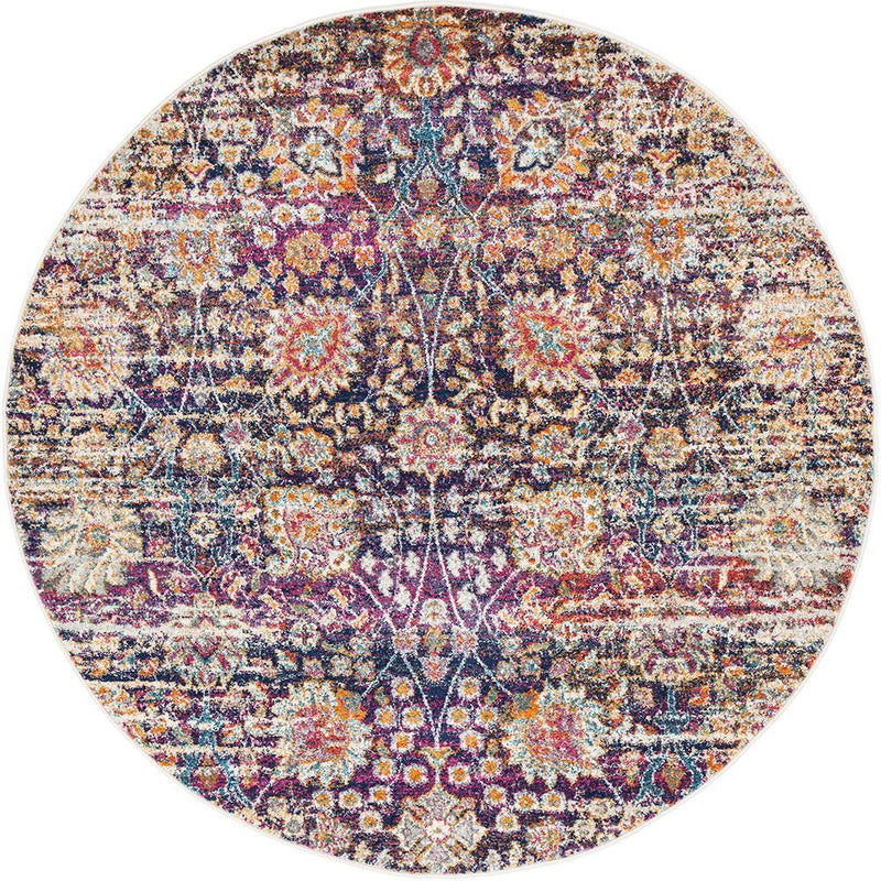 Zolan Transitional Multi Round Rug - MaddieBelle