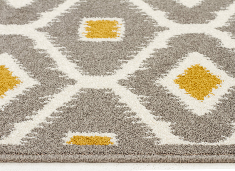 Indoor Outdoor Bianca Grey Citrus Rug - MaddieBelle