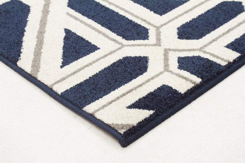 Indoor Outdoor Xenia Rug Navy - MaddieBelle