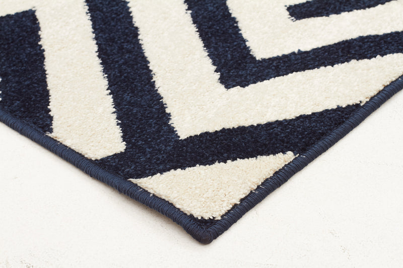 Indoor Outdoor Dolce Rug Navy - MaddieBelle