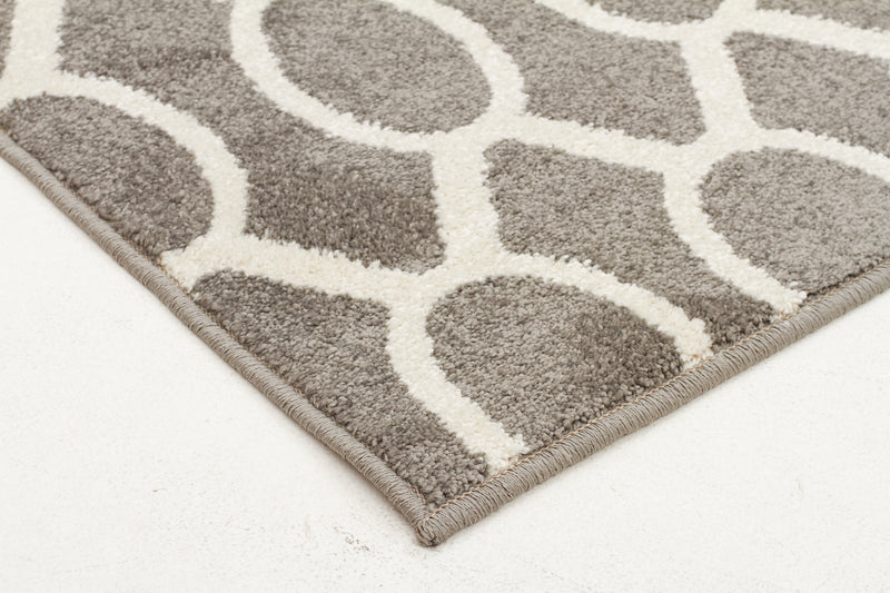 Indoor Outdoor Neo Grey Rug - MaddieBelle