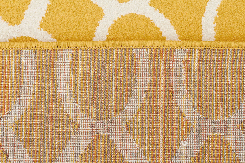 Indoor Outdoor Neo Rug Yellow - MaddieBelle