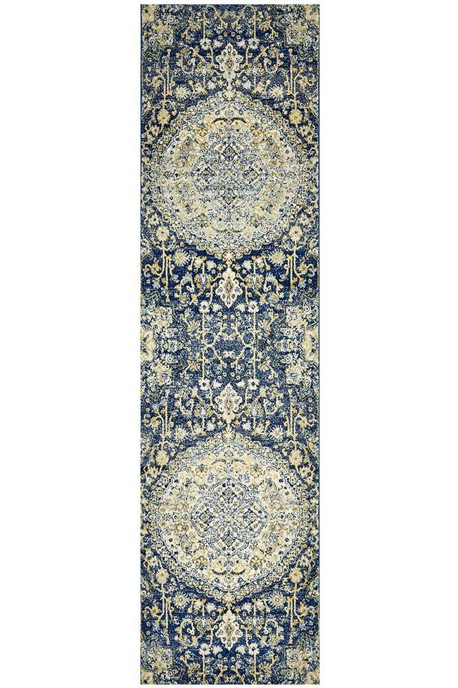Museum Ruthy Navy Rug - MaddieBelle