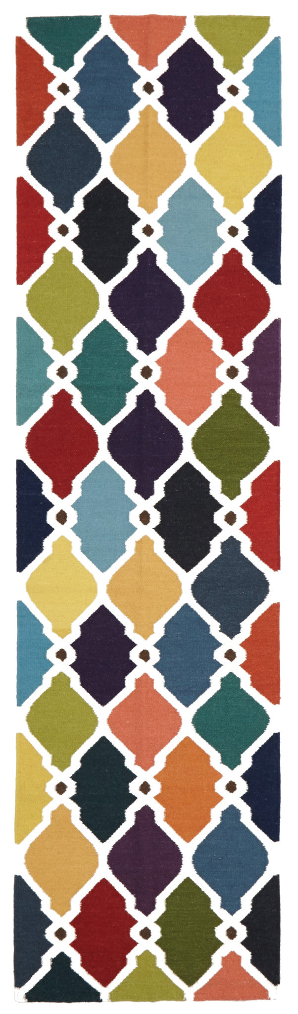 Rio Flat Weave Rug Multi - MaddieBelle