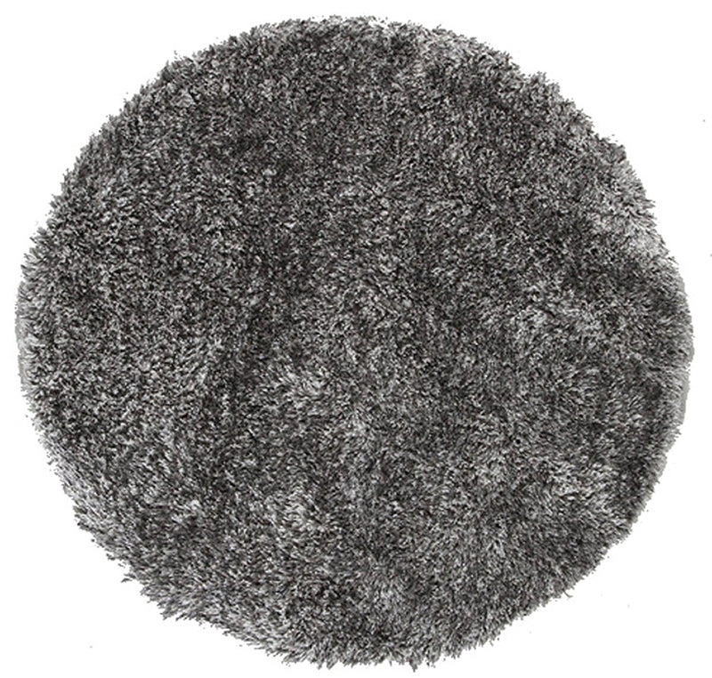 Plush Luxury Shag Rug Black White Mix - MaddieBelle