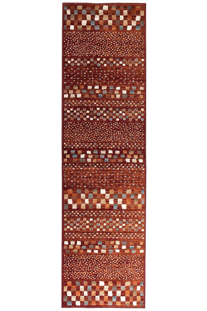 mayfair-squares-runner-rust-multicoloured-rug