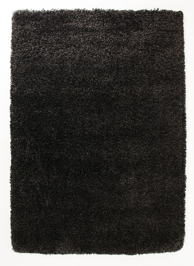 Ultra Thick Super Soft Charcoal Shag Rug