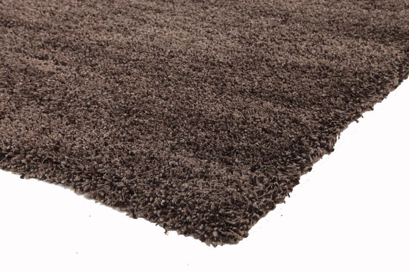 Ultra Thick Super Soft Brown Grey Shag Rug