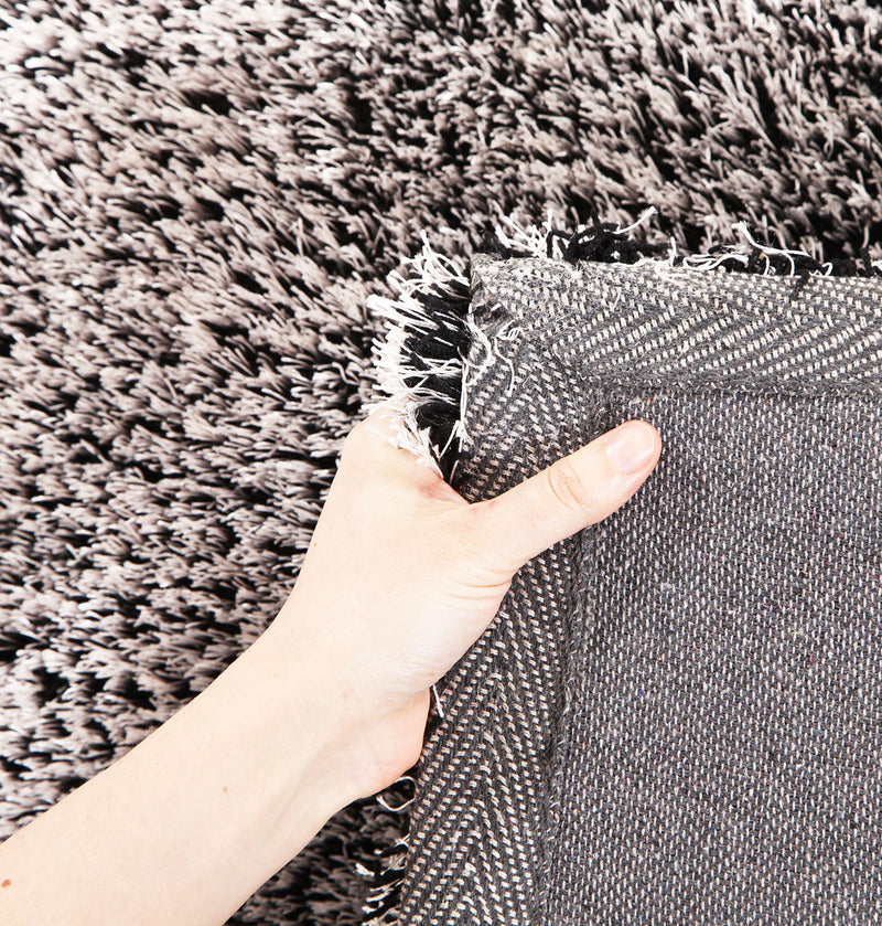 Thick Plush Shimmering Shag Rug Seal - MaddieBelle
