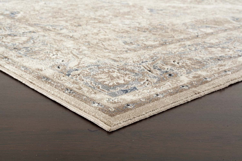Esquire Hallmark Traditional Cream Rug - MaddieBelle