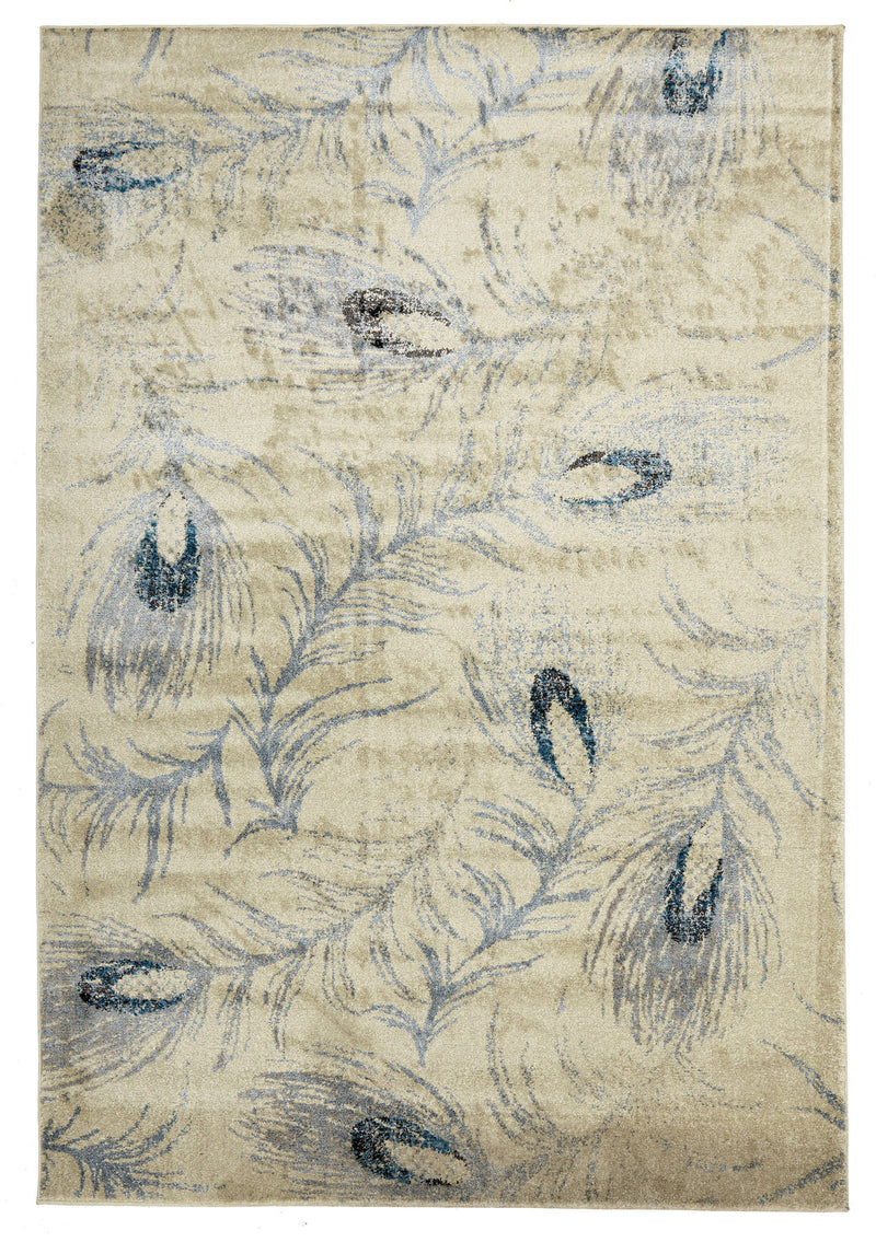 Opulence Feather Cream Rug