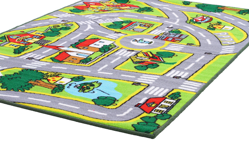 Non Slip Road Map City Rug - MaddieBelle