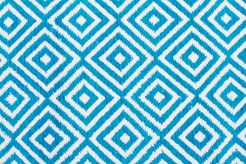 villa-modern-diamond-boho-blue-white-turquoise-cotton-rug