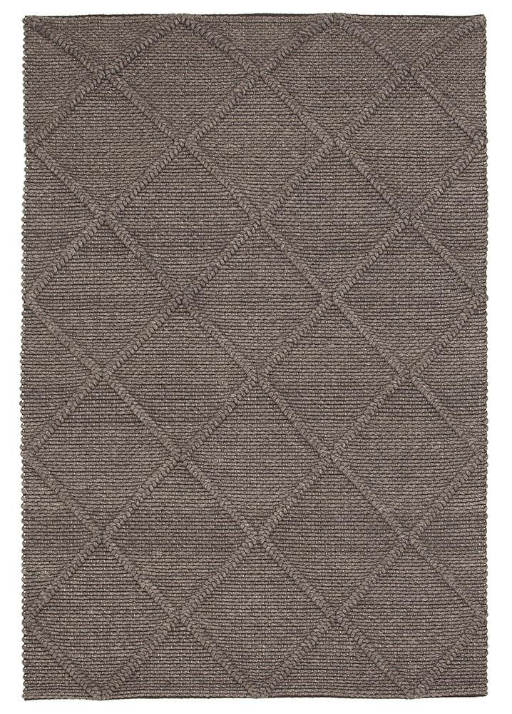 wool-viscose-diamond-rug-grey-brown-modern-skandi