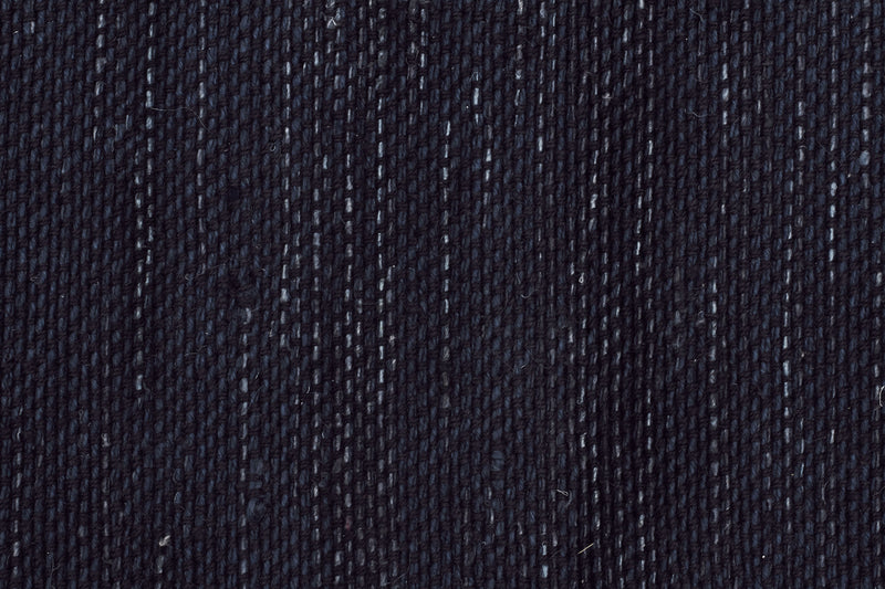 Ida Modern Wool Rug Midnight Blue