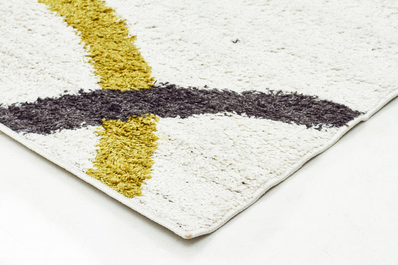 Brooklyn Shag Rug White - MaddieBelle