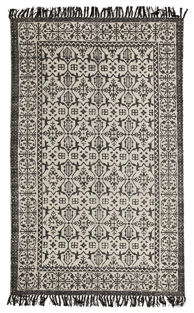 Totemic Clan Black Rug - MaddieBelle