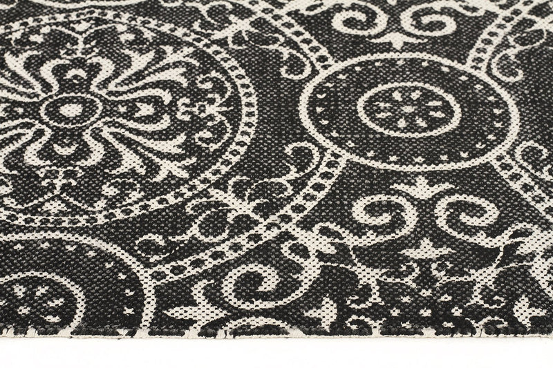 Totemic Dynasty Black Rug - MaddieBelle