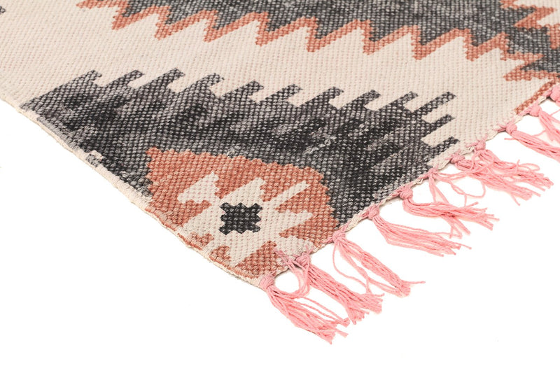 hand-loomed-cotton-flatweave-pink-rust-rug