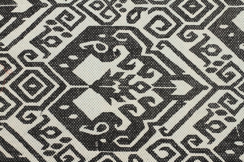 Totemic Tameless Black Rug - MaddieBelle