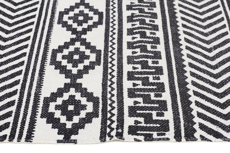 Totemic Rally White Rug - MaddieBelle