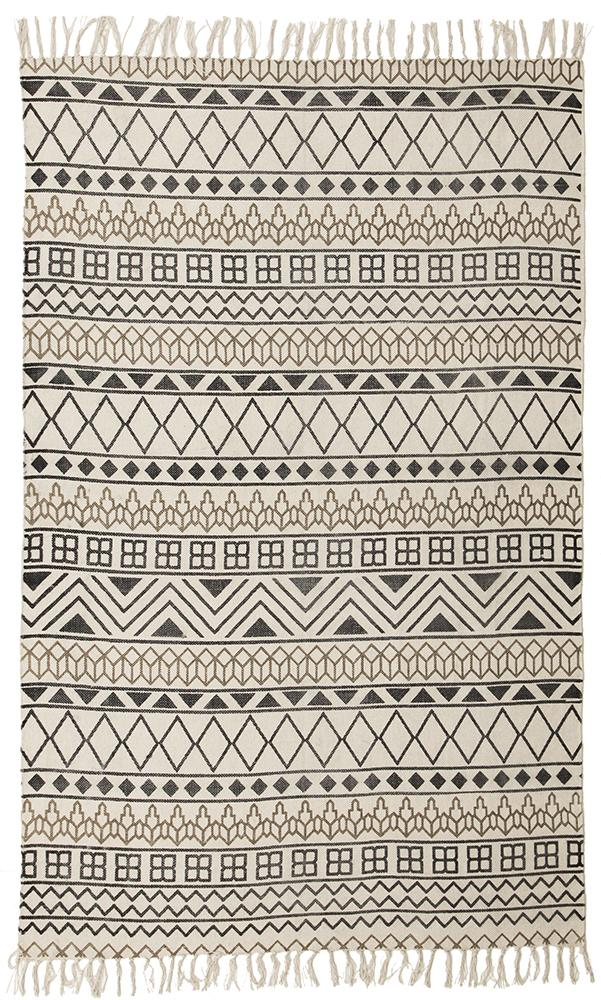 totemic-shapes-ivory-black-white-bohemian-cotton-rug