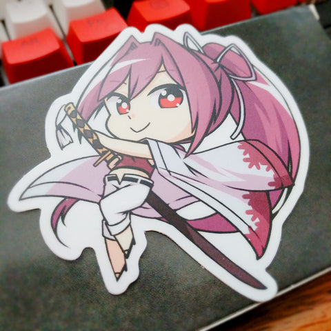 "Yuzuriha 3"" Sticker"