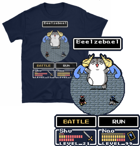 Clothes - Beezebael Battle T-Shirt [PREORDER]