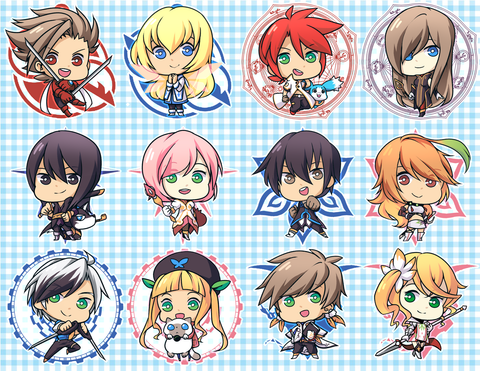 "[SALE] Tales Series Charms - 1.5"" Double-sided Clear Acrylic"