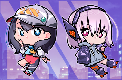 "SSSS.Gridman Charms - 2"" Double-sided Clear Acrylic"