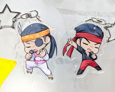 "Yakuza Charms - 2"" Double-sided Clear Acrylic"