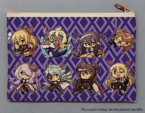 Small Canvas Bags - Granblue Fantasy Dark Team