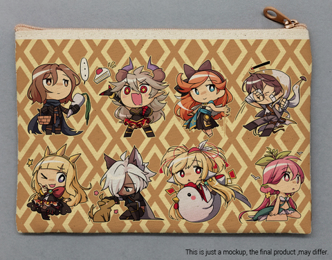 Small Canvas Bags - Granblue Fantasy Earth Team
