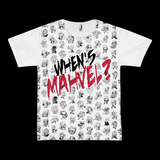 Clothes - When's Mahvel? Full Print T-Shirt