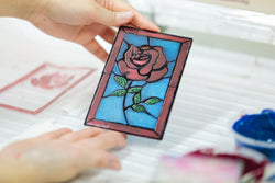 Screenprinting Workshop: A Rose-Tinted Glass