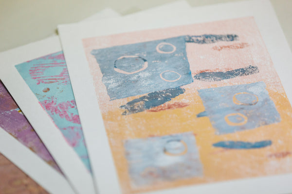 Collage & Collagraph Workshop — Regular Session