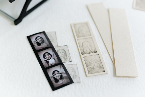 Miniature Drypoint Portraiture