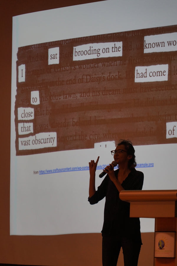 Blackout Poetry Workshop with Jennifer Anne Champion