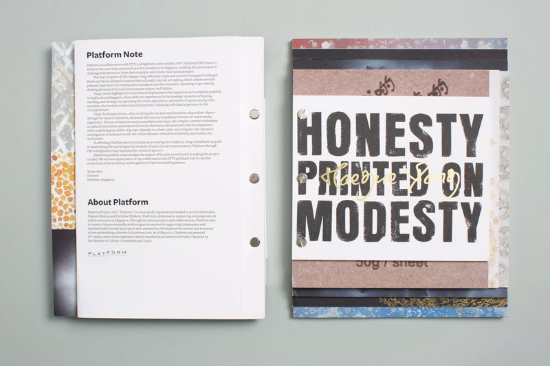 Haegue Yang: Honesty Printed on Modesty