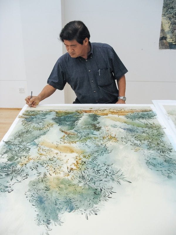 Outdoor Watercolour Workshop with Ong Kim Seng