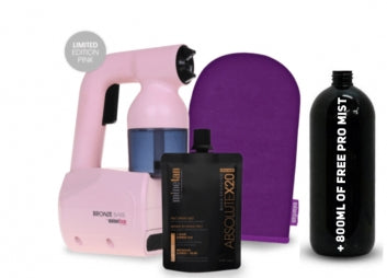 Bronzed Babe Personal Spray Tan with FREE 800ml of Pro Mist