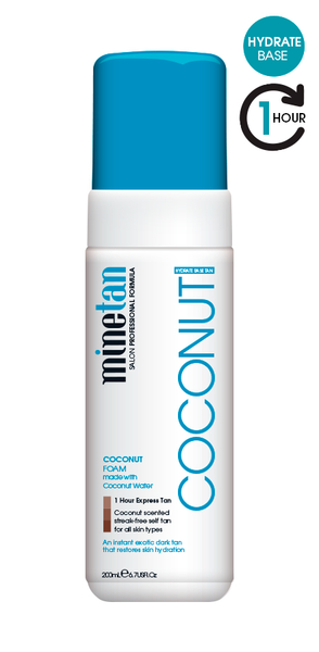 Mine Tan Coconut Foam