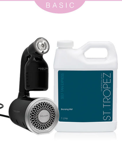 Handy Tan Spray Tan Gun - St Tropez - Express Bronzing Mist Kit